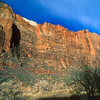 Cathedral Wall, Zion National Park.