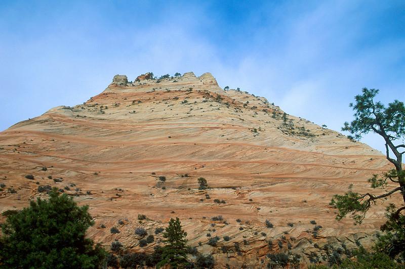 Corkscrew mountain, Zion National Park.