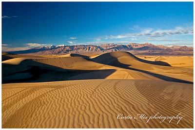 Wet dunes.