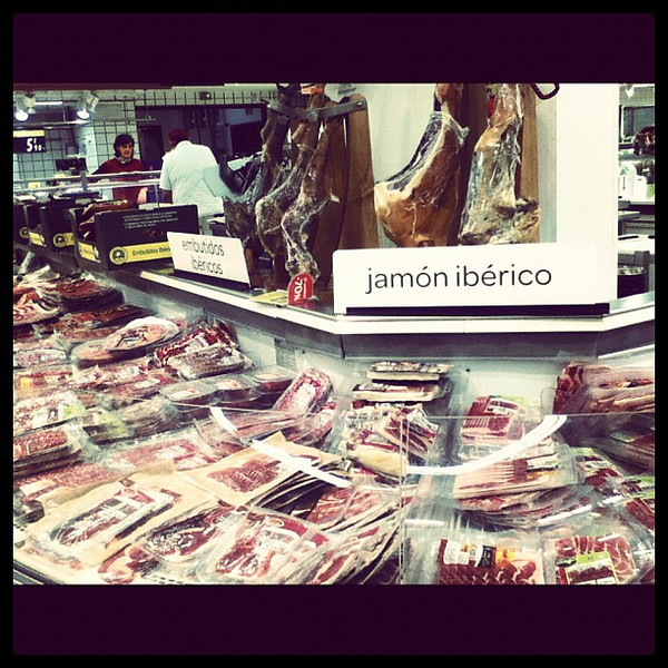 In Mallorca the grocery store has an entire section dedicated to pork. I heart Spain