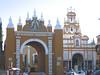 Macarena Gate near our Sevilla apartment