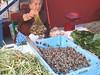 Street market, Sevilla - selling live snails