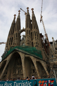 Barcelona, Spain - Sangrada Familia