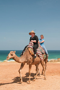 Mary & Molly racing camels