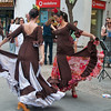 We came across these Flamenco dancers as they were doing their last number, so the scramble was on - I didn't have the right lens or the camera set up right, I grabbed what I could.  We really should have gone to see one of the performances, but time just didn't allow it.