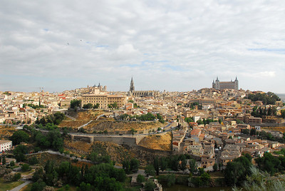 Toledo from across the river.