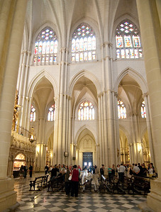 The Cathedral de Toledo is considered remarkable in their use of light.
