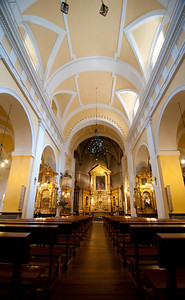 """Church of Santo Tomé which has the El Greco painting """"The Burial of the Count of Orgaz"""""""