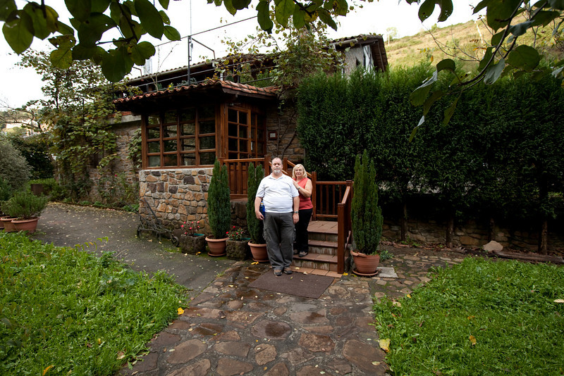 This was one of the better restaurants we found.<br /> <br /> Llodio, Spain