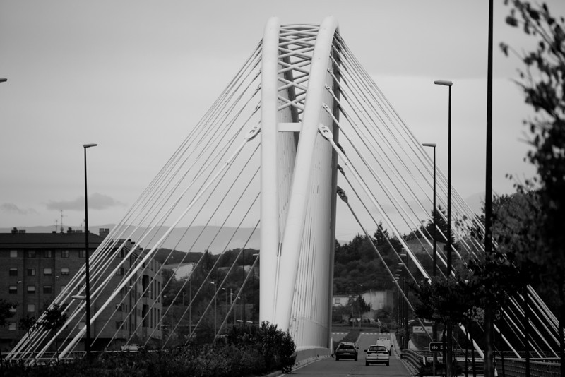 They had many very cool bridges.<br /> <br /> This is the bridge over the Ebro river in Legrono Spain.