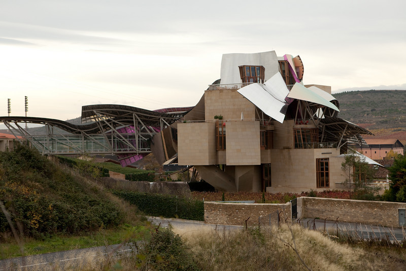 Marqués de Riscal by Frank Gehry