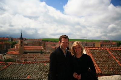 In Segovia.