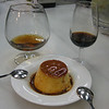 For dessert...some flan, of course!  Uly had a glass of brandy and I had a glass of Pedro Ximenez sherry (which is almost a dessert by itself)