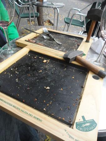 Mini pizza carcass