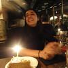Celebrating Erica's birthday on the last night in Madrid