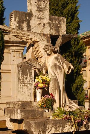 Cemetery in Granada