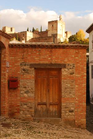 Door and Alhambra