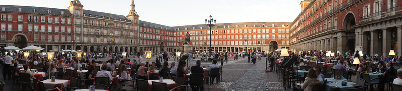 Plaza Mayor, Madrid.