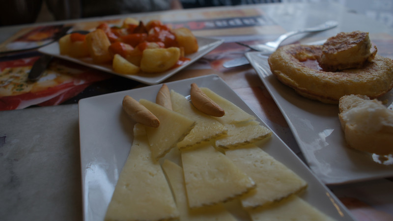 """Tapas"" (afternoon snacks)."