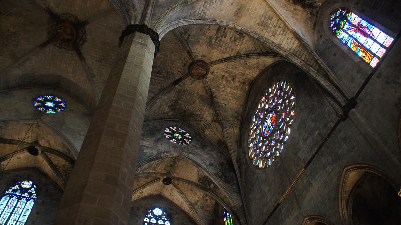 Santa Maria del Mar in Barcelona.