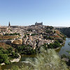 Toledo - this is the perhaps the most photographed view of the city, taken from across the river.