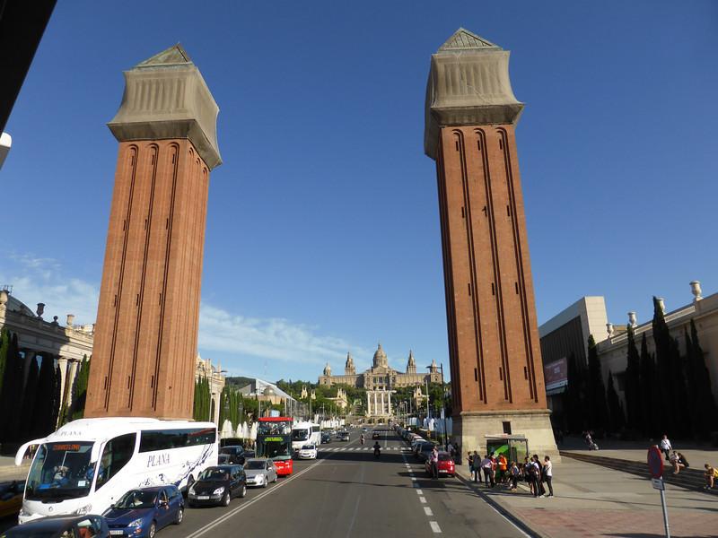 Barcelona - the Venetian Towers.