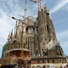 Barcelona - Gaudi's Sagrada Familia, which is not yet completed.  This will hopefully be finished in 2026 on the 100th anniversary of his death.