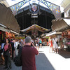 Barcelona - the entrance to the famous La Boqueria market.