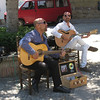 Ronda - some street musicians.