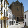 Ronda - an interesting Church that was located at one end of town.