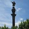 Barcelona - statue of Christopher Columbus.