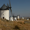 La Mancha - some of the famous windmills there.