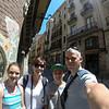 Just outside Palau de Musica, Barcelona