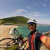 Bike ride along the coast, south of San Sebastian
