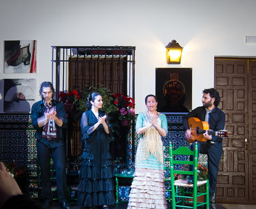Final performance piece from the flamenco show.