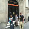 Arriving in Barcelona
