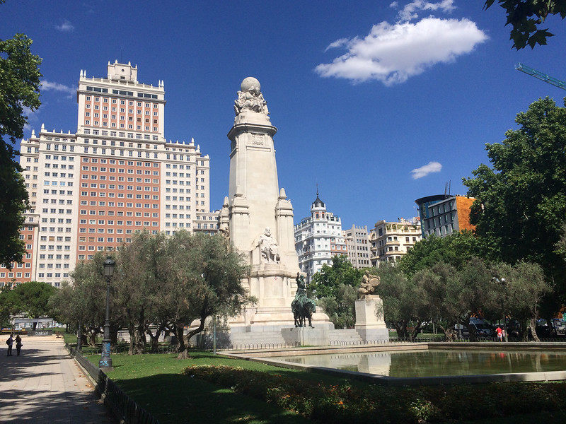 Madrid Plaza Espana 1