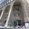 Sagrada Familia church in Barcelona.