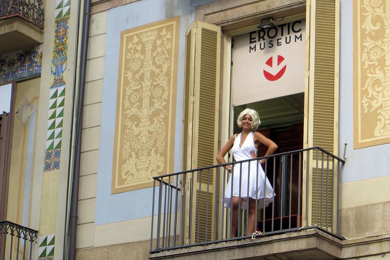 Barcelona, Erotica Museum on La Rambla