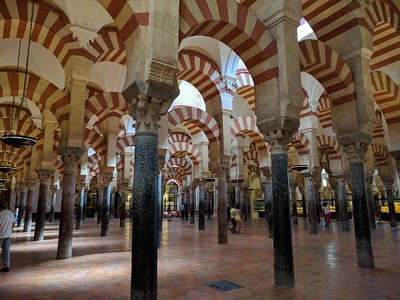 Mosque-Cathedral arches
