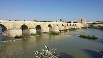 Roman Bridge with Calahorra Tower