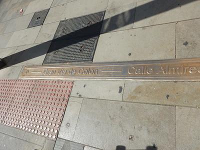bronze street name