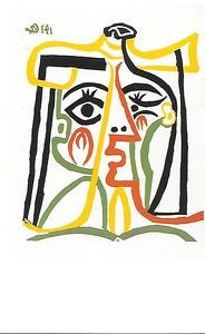 Picasso - Jacqueline con sombrero