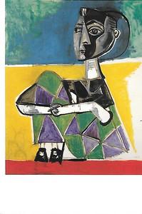 Picasso - Jacqueline sentada