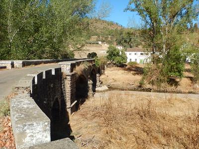 abandoned town & nice bridge