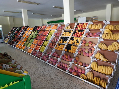 market in San Roque