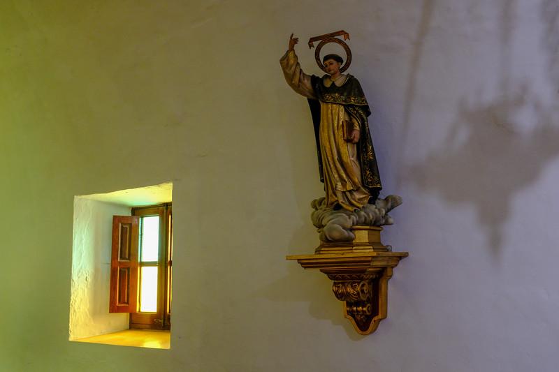 Church interior, St Gertrudis