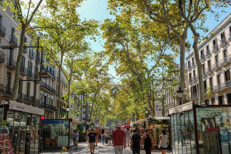 Barcelona ramble