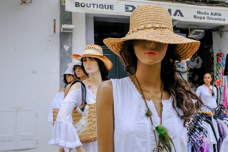 Store mannequins
