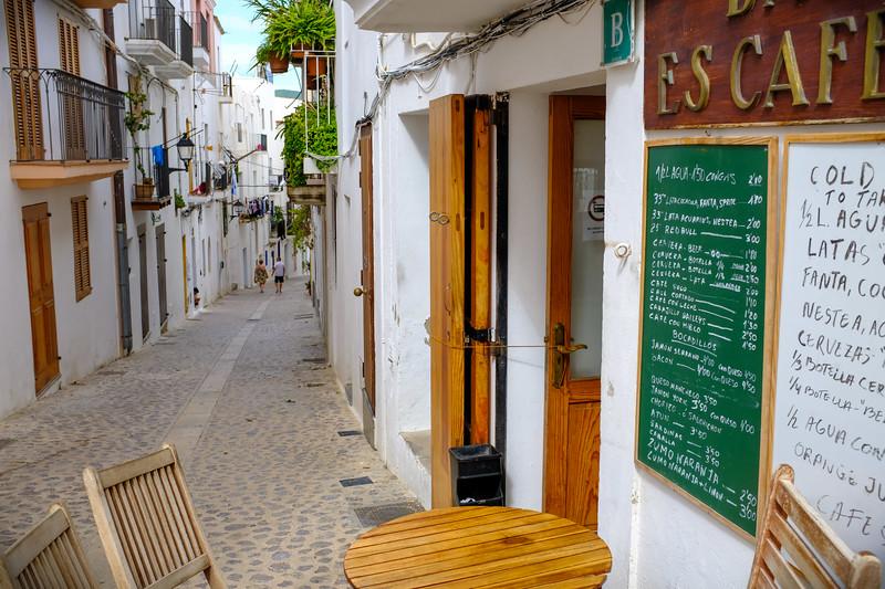 Upper Ibiza street